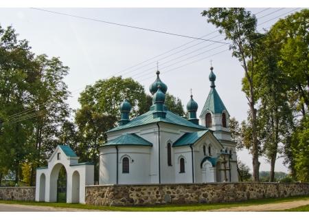 NOWOBEREZOWO - cerkiew p.w. Wniebowstąpienia Pańskiego