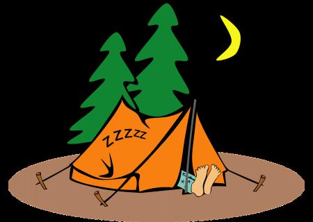 Białowieża: Pole namiotowe