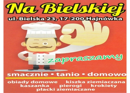 Domowe Obiady na Bielskiej in Hajnówka