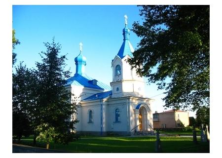 DUBICZE CERKIEWNE – cerkiew p.w. Opieki Matki Boskiej