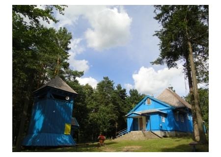 SAKI – cerkiew drewniana p.w. Św. Dymitra
