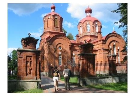 BIAŁOWIEŻA - cerkiew p.w. Św. Mikołaja Cudotwórcy