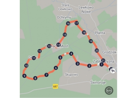 Trasa #3 Gnilec - Rowerowe Podchody