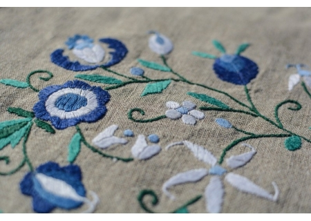 Embroidery and lace