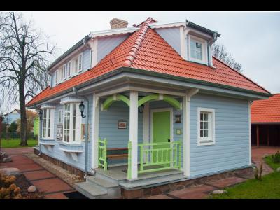 Apartamenty w Galerii Trunków Wschodu w Białowieży