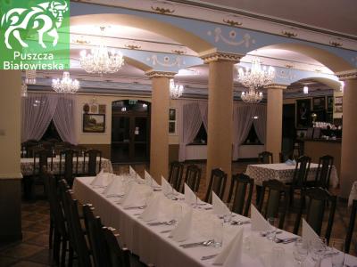 "Restaurant ""Carska Komnata"" in Narewka"