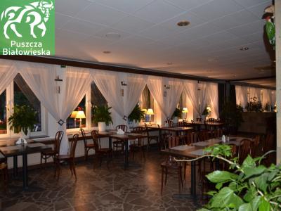 Restaurant Wrota Lasu in Hajnówka