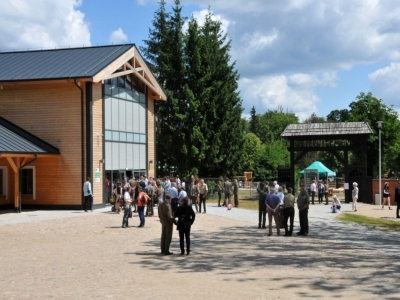 Educational Pavilion in the European Bison Show Reserve