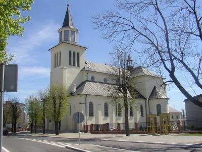 HAJNÓWKA – kościół p.w. Podwyższenia Krzyża Św.