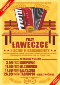 Przy Ławeczce - uliczne mikrokoncerty