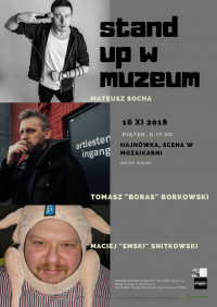 Muzeum i Ośrodek Kultury Białoruskiej w Hajnówce zaprasza na kolejny stand-upowy wieczór pełen śmiechu!