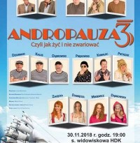 Andropauza 3 – czyli jak żyć i nie zwariować 30.11.2018