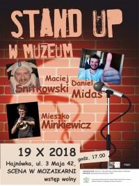 Muzeum i Ośrodek Kultury Białoruskiej w Hajnówce zaprasza na stand-upowy wieczór pełen śmiechu! 19.10.2018