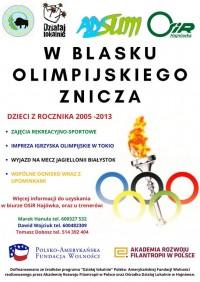W blasku olimpijskiego znicza