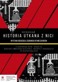 Wernisaż Historia Utkana z Nici, 04.11.2018