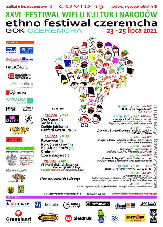 festiwal wielu kultur 2021 Czeremcha